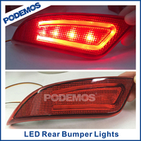 PODEMOS car tuning Camry V55 car rear reflector led rear bumper lights for new Toyota Camry 2015