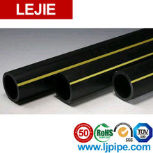 LEJIE AAAA Super Safety 50-Year Warranty PE100 HDPE Yellow Mine Pipe for China Resources Gas