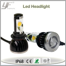 YF high power led headlight bulb h7 auto parts car accessories singlebeam bulb and hi-low beam bulb