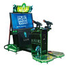 Alien shooting game machine/simulator gun game machine