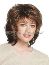 bob style full cap full machine-made Synthetic Hair wig
