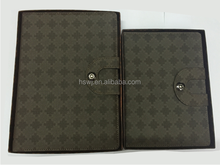 High Quality Office & School leather Diary Notebook sized A6,A5,A4,OEM Order Welcomed