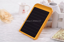 Portable 2600mah USB Power Bank Mini Solar Charger For Outdoor