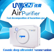 Photo plasma pet disinfection green air purifier ionizer