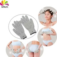 Low-frequency pulse therapy instrument gloves EMS TENS Unit