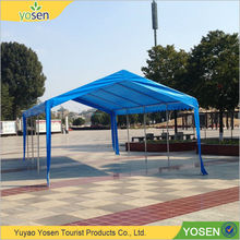 Customized large outdoor flat top folding canopy tent