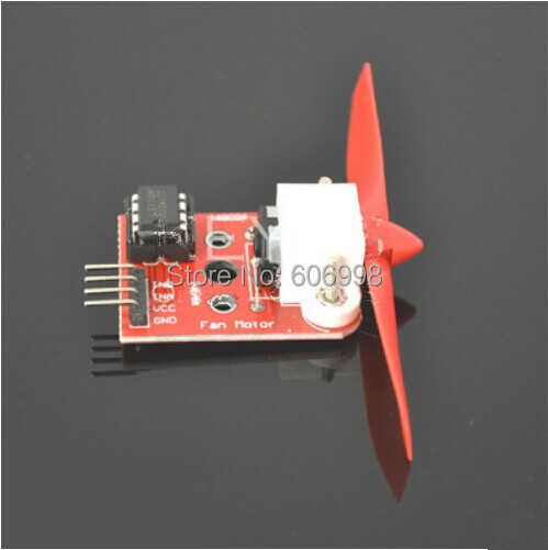 2pcs/lot L9110 Fan Module For Arduino Fire-fighting Robot