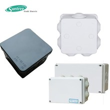 Factory Direct Waterproof Electrical Junction Box White or Black Color IP55 IP65 Electrical Junction Box