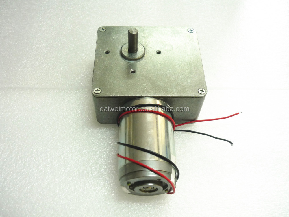 24 60w 45rpm Gear Motor Boat Motors For Boat Car Electric Bicycle Fan Home Appliance From