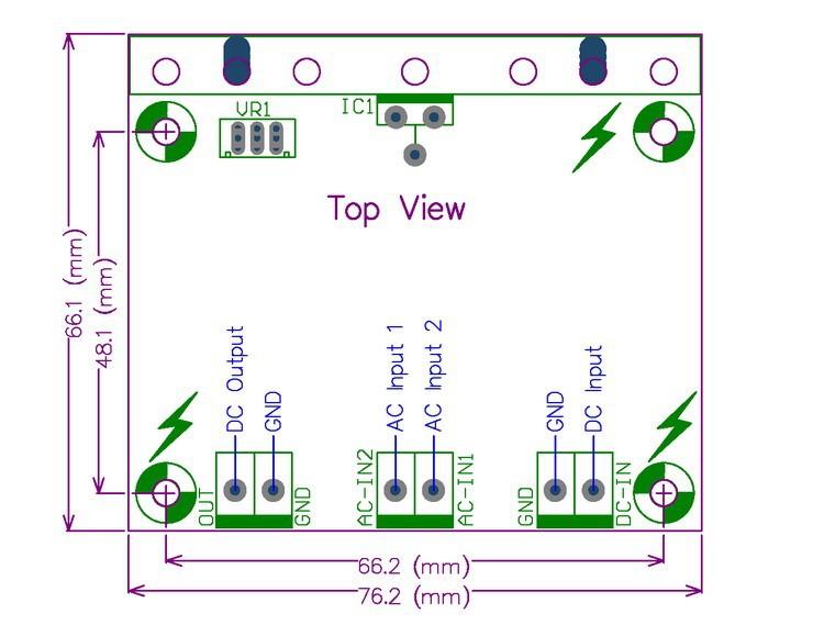 High-voltage Adjustable Regulator tl783c to-220