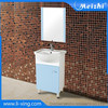 floor standing PVC ethan allen bathroom vanities
