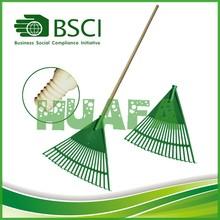 hardwood handle garden leaf rake cheap