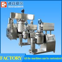 50L Vacuum Tomato Paste Processing Emulsifying Machine