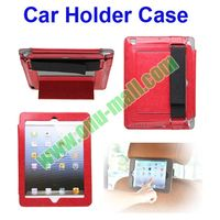 Multifunctional Leather Car Holder Case for iPad Air/iPad 4/3/2 for in Car Use