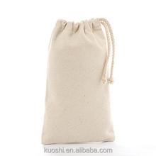 High quality drawstring cotton bag