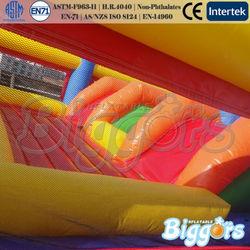Fun City Sponge Bob Inflatable Combo Games Bouncy Castle For Sale