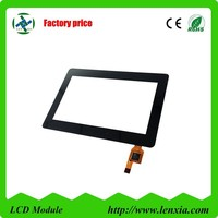China manufacturing capacitive 4.3 inch touch panel for industrial use