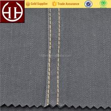382gsm siro spun yarn thick woven elastic fabric slub twill fabric soft good abrasion resistance,Little hairiness, high strength