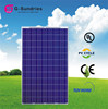 CE/IEC/TUV/UL polycrystalline 240w solar panels with built in inverters