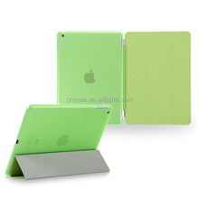 protective tablet smart cover for ipad case , hot for ipad air smart cover