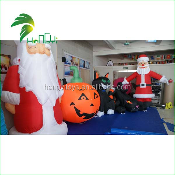 Inflatable Hallowmas Cat (5)