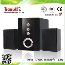 2014 Cheaper price !!!Fashion Design and High-quality Sound 2.1 Computer /woofer/multimedia/active Speaker