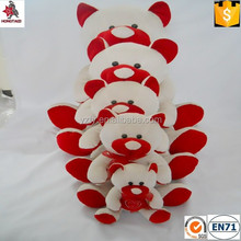 Good quality stuffed animal bear toys for valentine's with bow