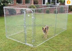 factory supplier heavy duty steel dog run kennels