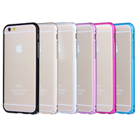 BRG Metal Mobile Phone Bumper Case for iPhone 6 Plus, for iPhone 6 Plus Aluminum Bumper