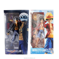"2pcs One Piece POP Variable Heroes Action Figure Monkey D. Luffy & Trafalgar Law Set 7"" New in Box"