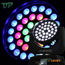 zoom wash disco light 10w led moving head mac aura light