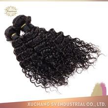 Xuchang SV brazilian loose deep wave hair weave 10a brazilian virgin hair deep wave