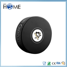Custom Embossed Logo Print Rubber Ice Hockey Puck for Sport Campaign