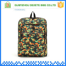 Eco-friendly waterproof camouflage shoulders bicycle backpack