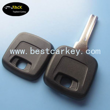 Best price key blank without logo (NE66 blade) for volvo key with TPX position volvo key case