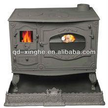 Modern roof flashing wood burning stove