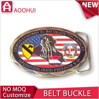 2015 die-cast souvenir fashion belt buckle