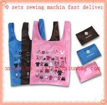Hot transfer printing shopping nylon bag for shopping