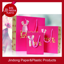 Customized paper bag&promotional paper bag&craft paper bag with your logo(Factory sale price)