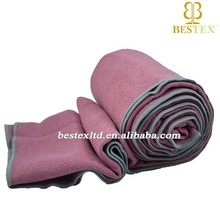 Custom Popular Long High quality Recycled Microfibre yoga towel