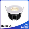 fireproof led light LED COB recessed dimmable fireproof led light 2015 new design product