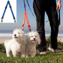 Wholesale Nylon Double Dog Coupler Lead Two Dogs Walking