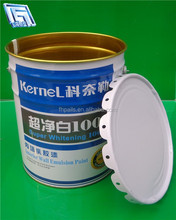 steel drum/pail/bucket for emulsion paint with lid and handle