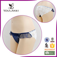 Hot Design Sweet Lovely Girl Transparent Sexy Girls C String Thong