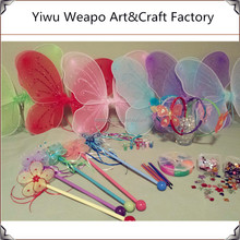 Wholesale Best Selling Kids Wedding Wand Mixed Color Butterfly Fairy Wand