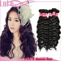 Full Cuticle Human Hair Weave, Double Weft Human Hair Extension, Hair Extension Outlet
