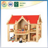 Red Roof Wooden Doll House