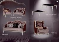 KTV room with luxury sofa set in suite room