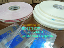 Bag sealing tape use for sealing different plastic bags/garment bags