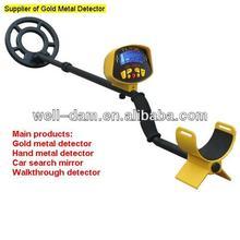 Profunda distancia oro detector de metales WD-MD3010
